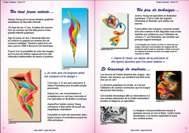 Le design graphique devoir n 2 sylvie deloge for Architecture graphique