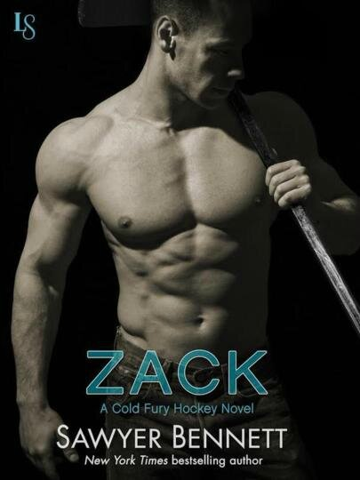 Zack (Cold Fury Hockey #3) by Sawyer Bennett (ARC provided for an honest review)