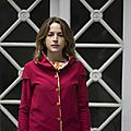 Veste sweat rouge/bordeaux