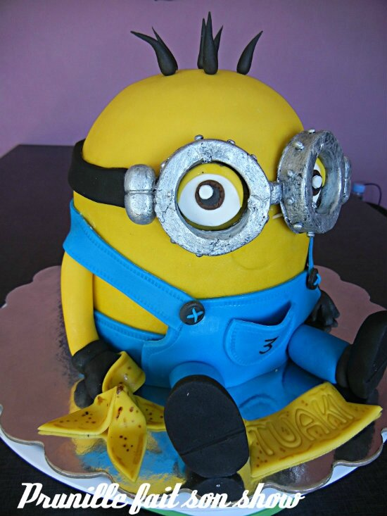 gateau minion prunillefee 3