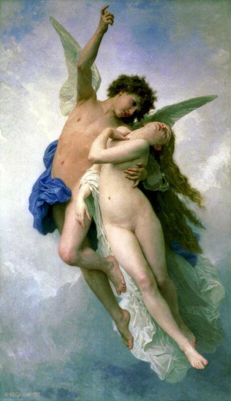 Psyche et L'Amour - 1889 - William Bouguereau
