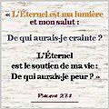 L-Eternel est ma lumiere et mon salut(1)