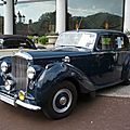 BENTLEY Mk VI 4door Saloon 1951 Baden Baden (1)