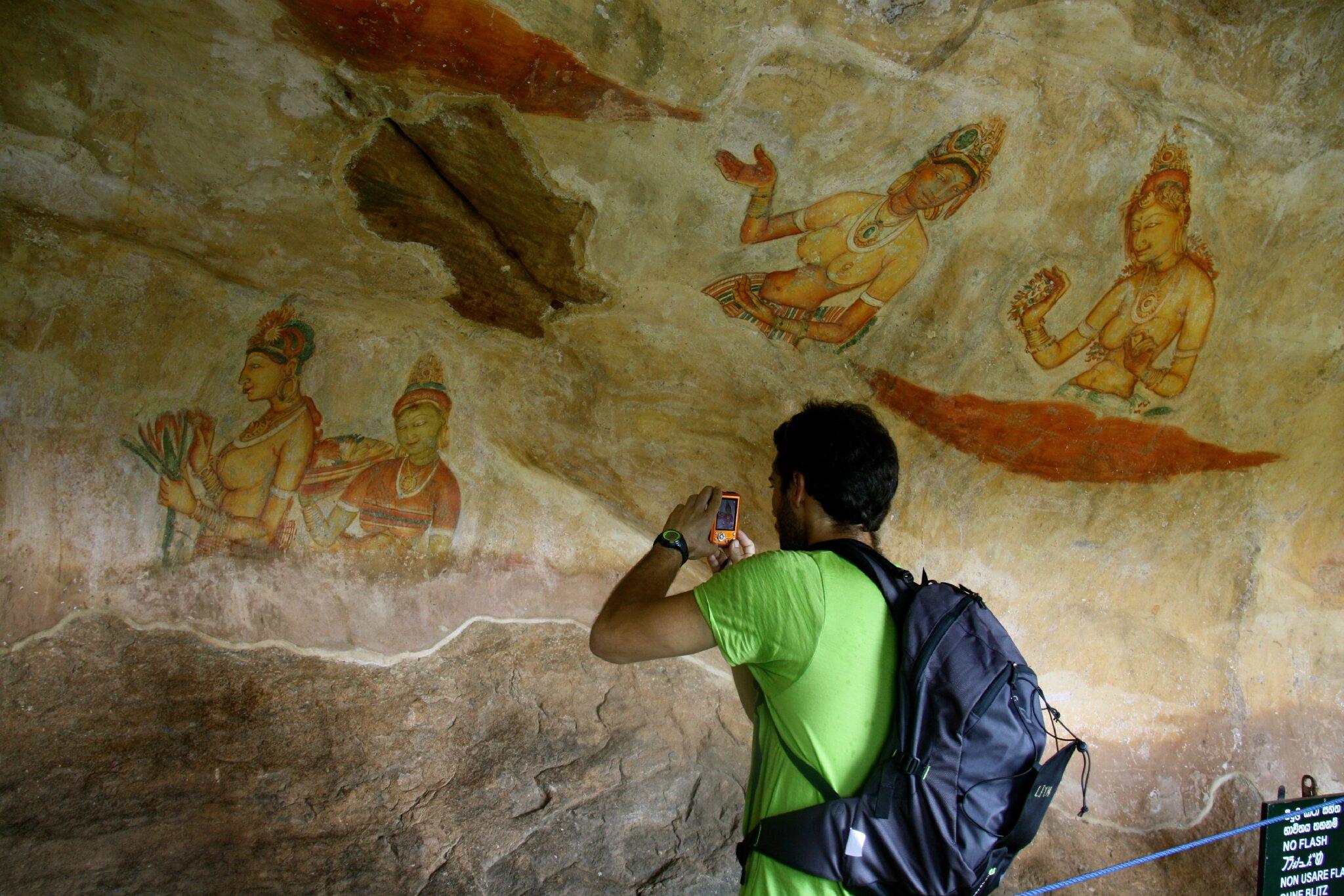 Gut gemocht Les fresques du Rocher du Lion - Sigiriya - Photo de 11- Sri Lanka  HD19