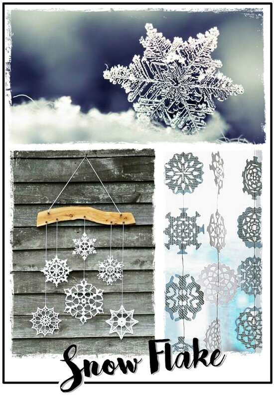 Snow flake inspi