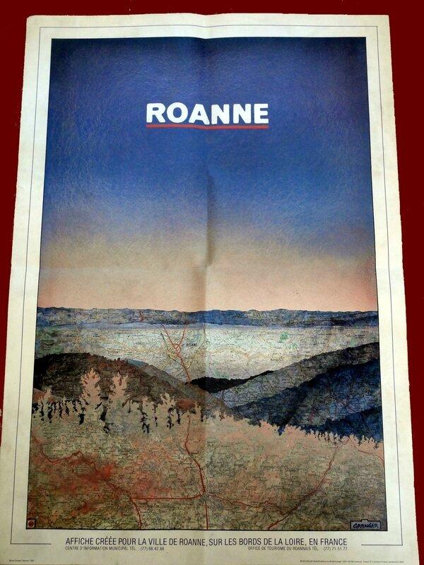 Affiche - Michel Granger - Roanne