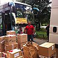Les musulmans de russie collectent de l'aide humanitaire pour les réfugiés de novorossia