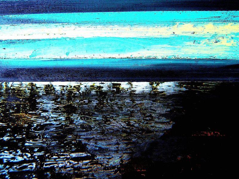bleu eau