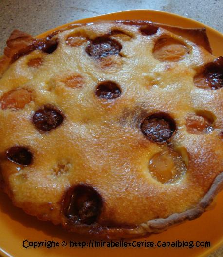 tarte abricots caramels1