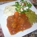 Boulettes de boeuf à la salsa (mijoteuse)