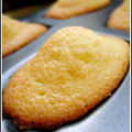 Madeleines tradition au citron
