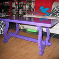 Table basse Violet Pop