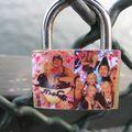 As-tu déja aimé ? as-tu jeté les clés sur le pont des arts ? suite de caden'art sur le pont des arts