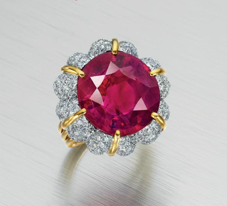 The Jubilee Ruby at Christie's New York, 20 april 2016