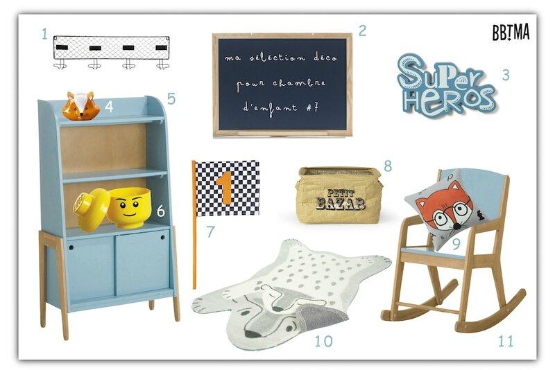 Ma sélection déco pour chambre d'enfant #7 bbtma blog kidsroom homedecor decokids alinéa tendance