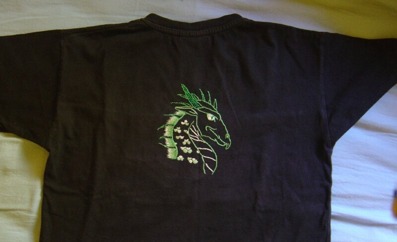 t shirt dragon