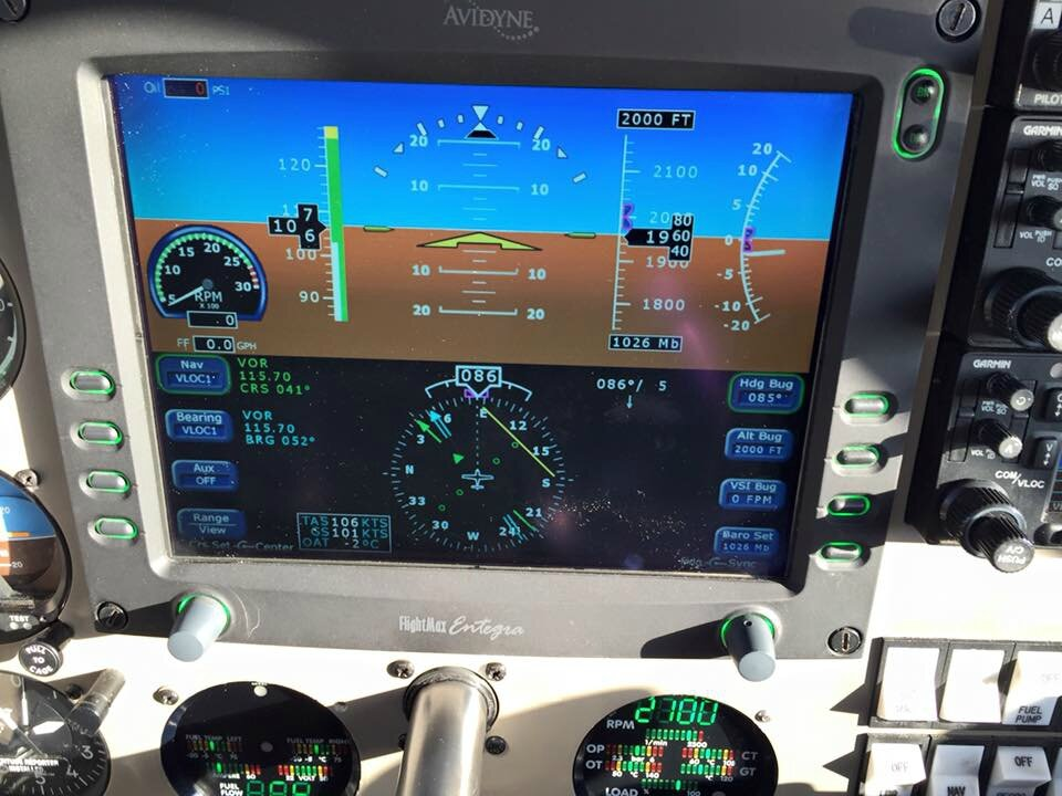 "Qualification PA28 TDI ""Glass cockpit"""