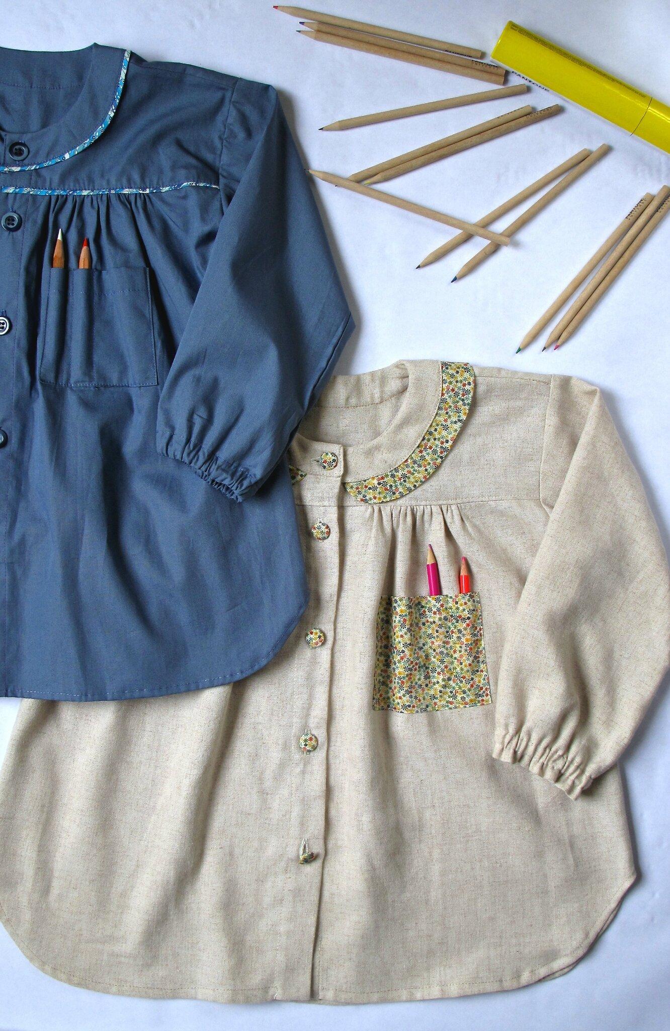 BRICE tablier blouse d'artiste ...