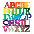 Tag # 4 : l'alphabet