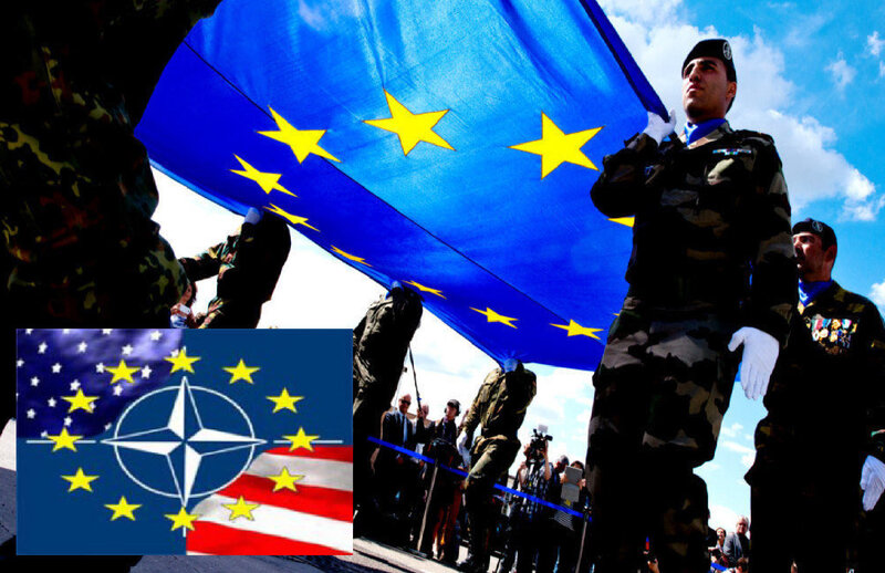 VISUEL UE OTAN ARMEE