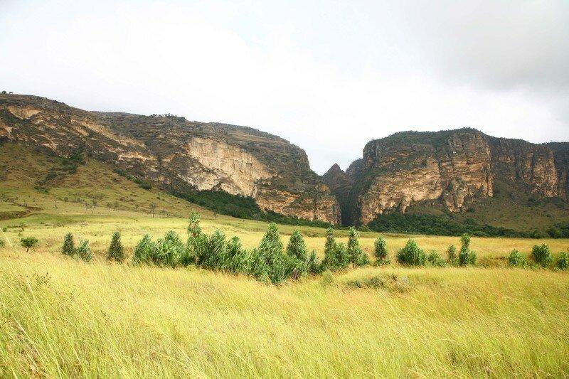 canyon dans l'Isalo