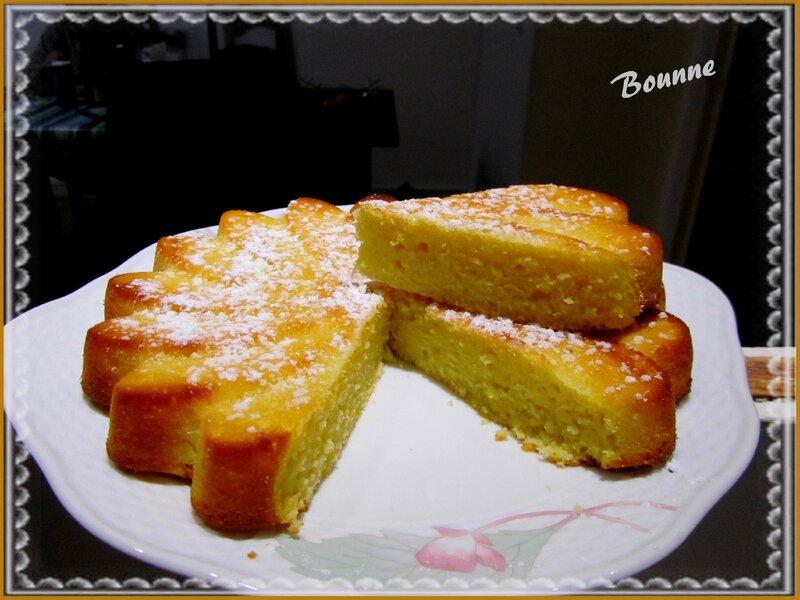 Gâteau au yaourt,polenta et citron (6)