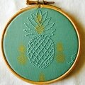 Ananas addict et hoop art
