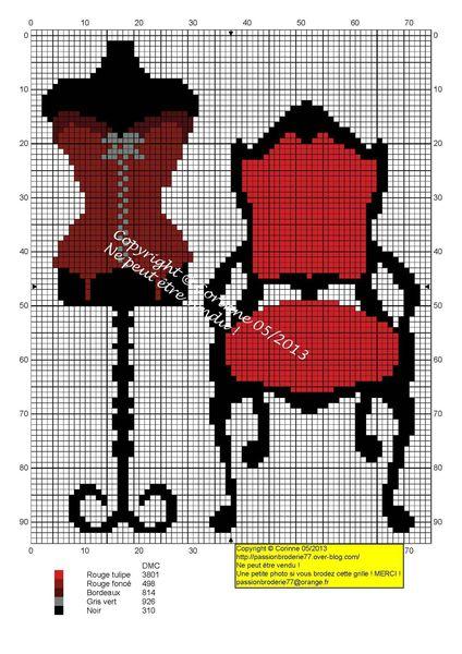 Rouge Manequi + chaise copie