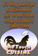 Top classements des meilleurs blogs culinaire
