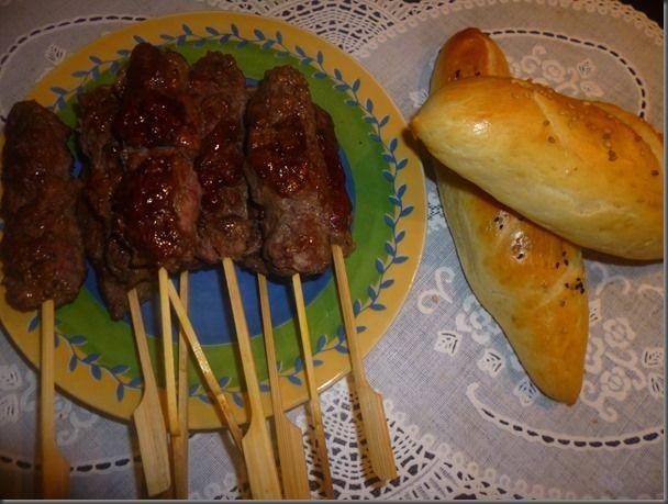 Brochettes de kefta au soja et tandoori gourmandise assia - Brochettes aperitives sans cuisson ...