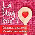 Cake spéculoos et pralinoise...et blog box