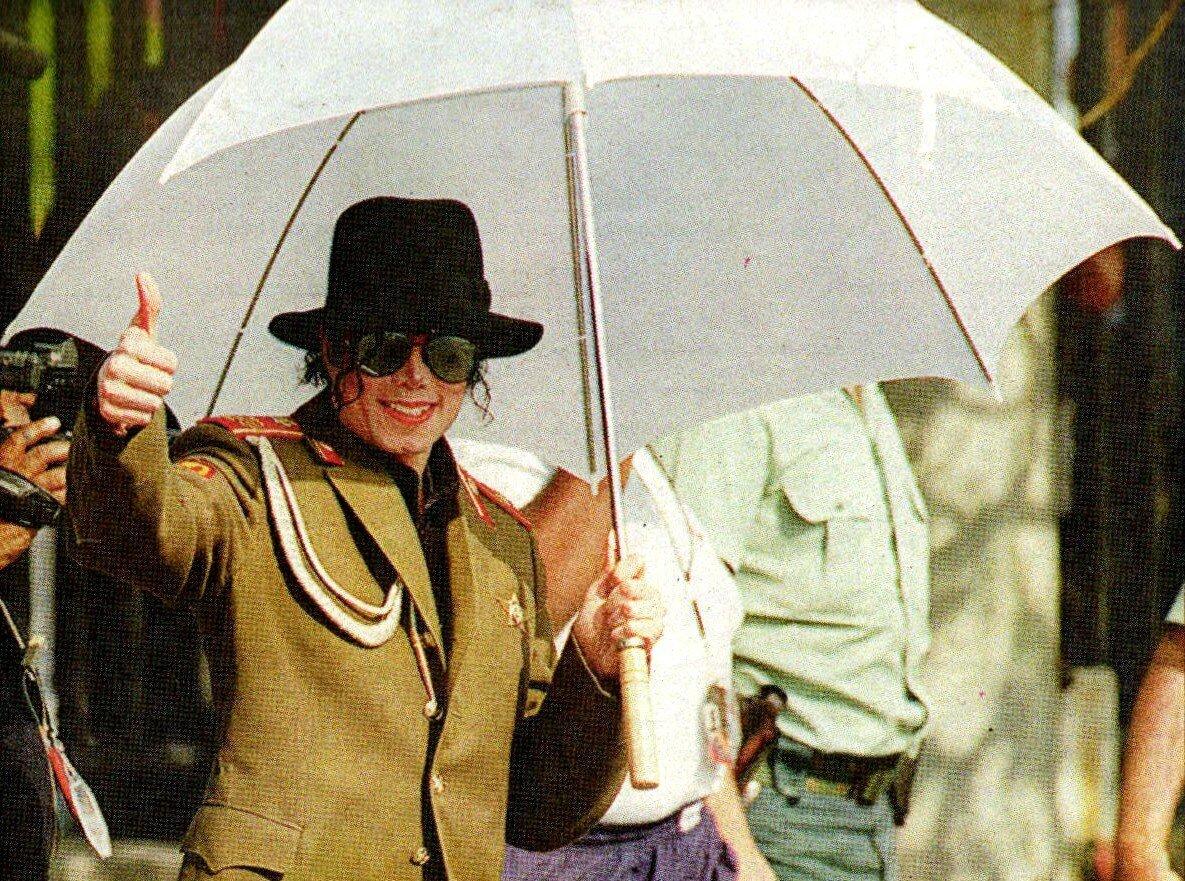 Michael Jackson à Saragosse (Espagne) du 23 au 25 septembre 1996