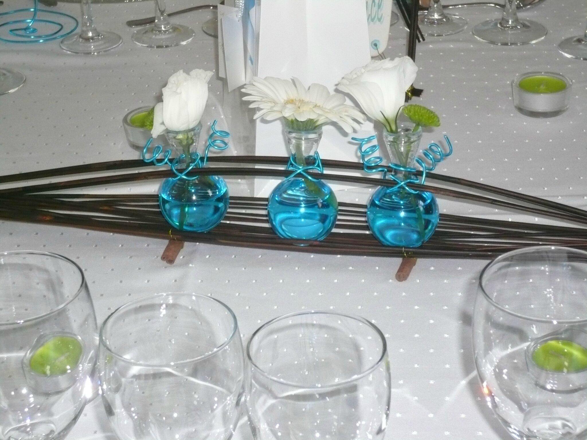 centre de table pour mariage th me des les orely scrap. Black Bedroom Furniture Sets. Home Design Ideas