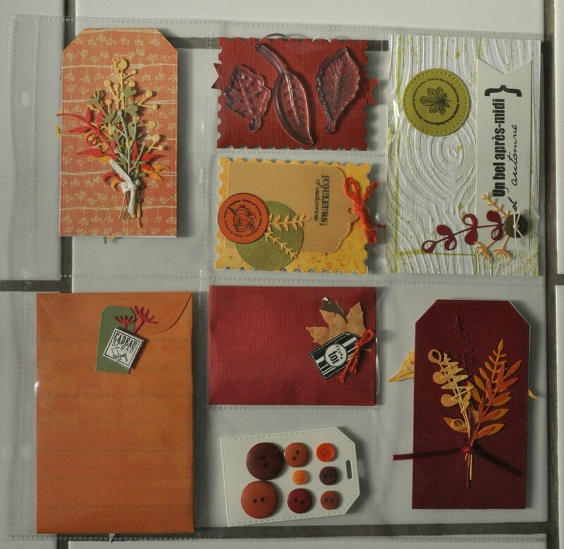 pocket letter de dany little scrap swap automne 2015 recto