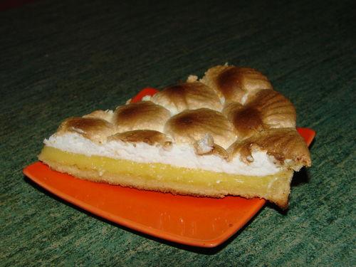 2008 07 05 Une part de tarte au citron meringuer que Cyril viens de faire