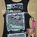 Abbey Dawn Band Chicks Muscle Tank