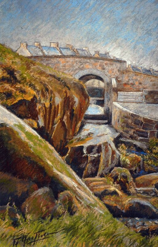 Huelgoat- Le petit pont