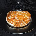 La galette des Rois  la faon d'une pastilla avec du chocolat...