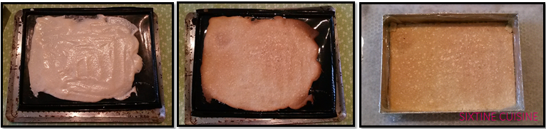 Biscuit dacquoise noisette