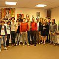 Expo d'art de jeunes bruxellois !!