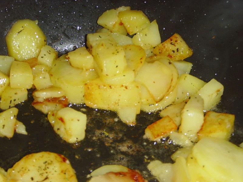 Pommes de terre sautées sans façon