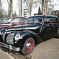 Rosengart super traction lr 539 berline 4 portes 1940