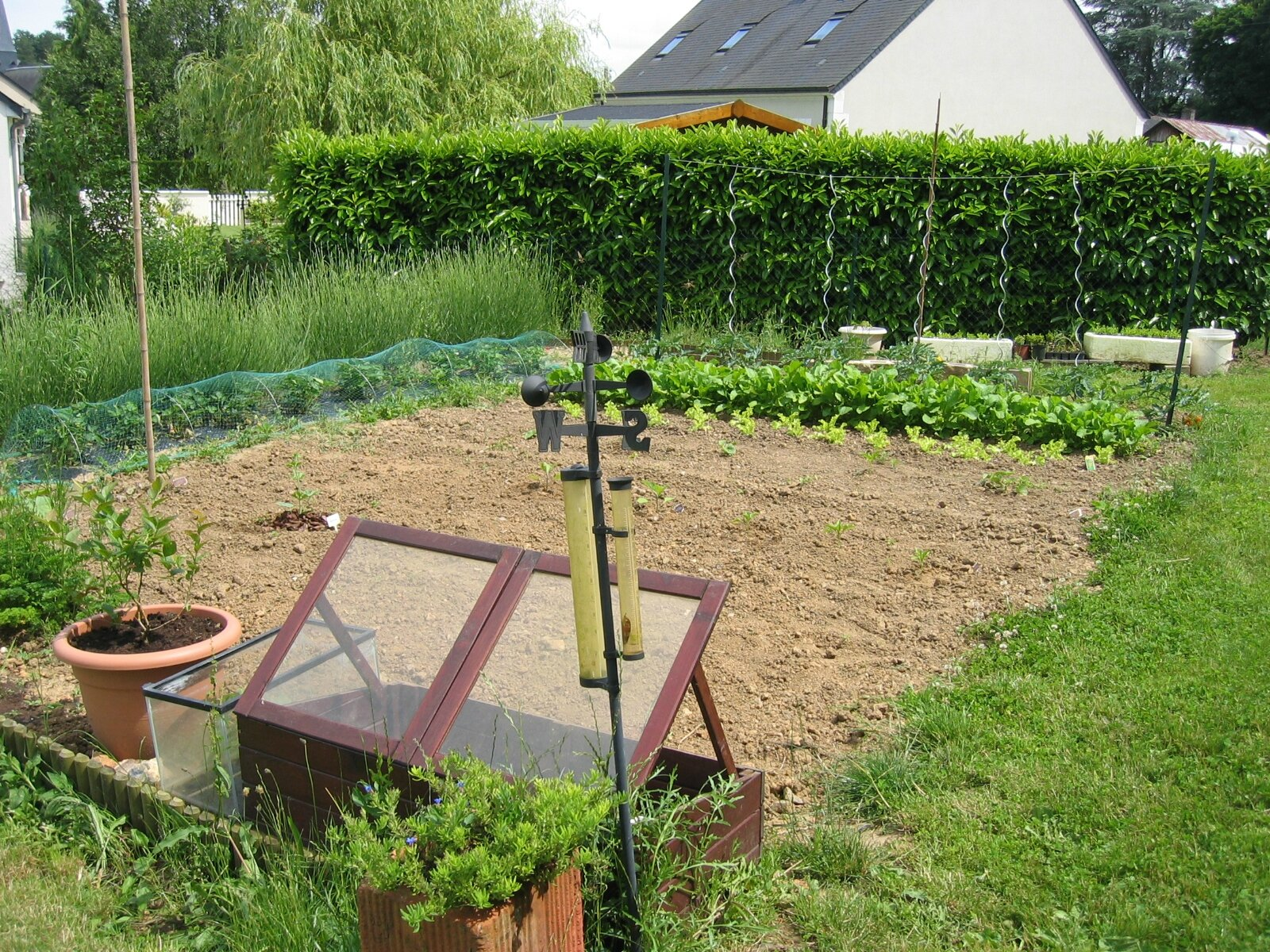 Comment amenager jardin potager for Amenager son jardin rustica