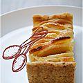 ..tarte aux pommes et sa pâte sucrée sans gluten..