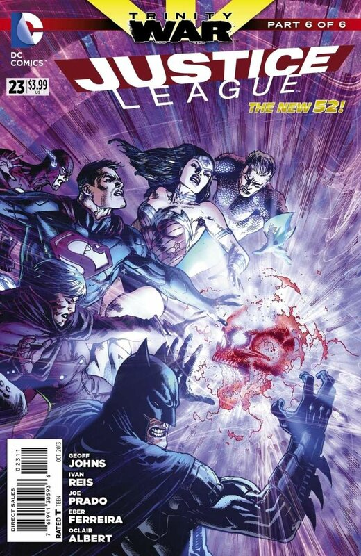 new 52 justice league 23