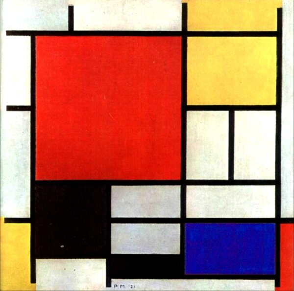 mondrian Composition 1921