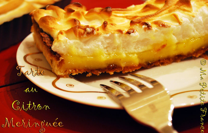 tarte au citron meringu e recette thermomix ma petite france. Black Bedroom Furniture Sets. Home Design Ideas