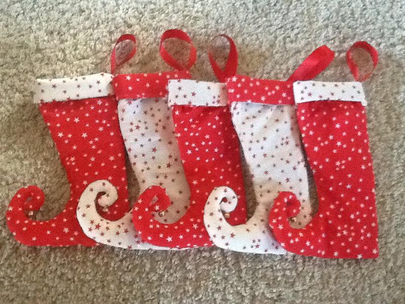 Mes petites bottes de Noël