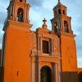 Cholula - Nuestra Seora de los Remedios CHurch at Sunset