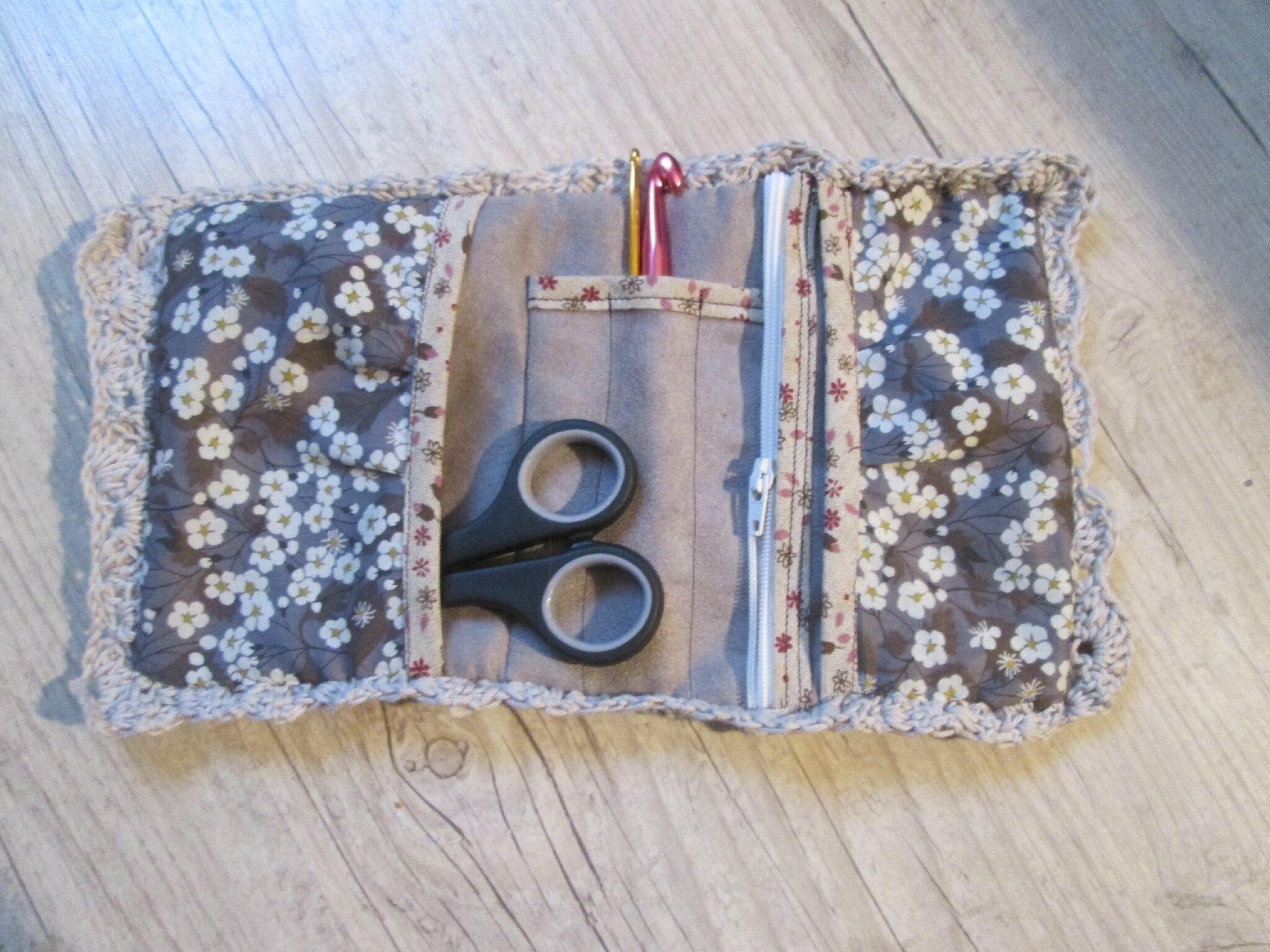 Kit patchwork trousse - chouette